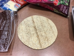 Step 1: whole wheat tortilla