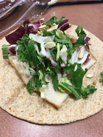Step 4: salad on a sandwich?